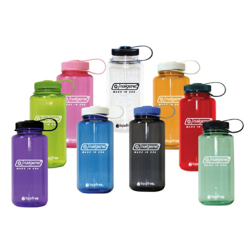 Custom printed Balgene 32 oz Wide-Mouth Water bottles, custom printable with your graphics
