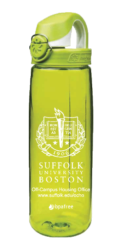 Custom Nalgene On The Fly (OTF) for Suffolk University of Boston