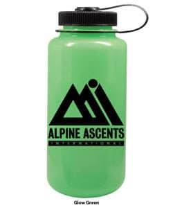 Nalgene 32 oz Wide Mouth Glow Green