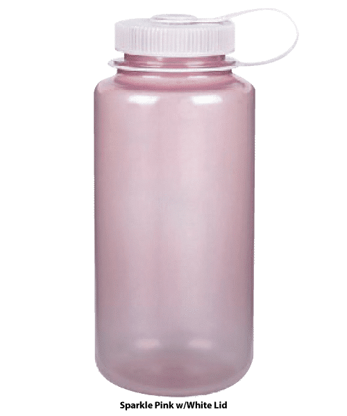 Nalgene 32 oz Wide Mouth Sparkle Pink