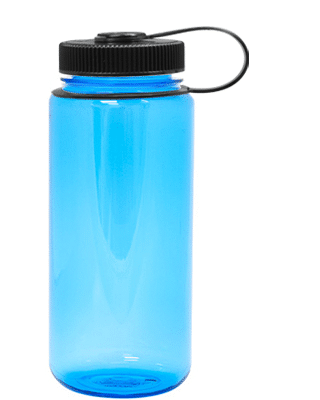 Nalgene 16 oz Wide Mouth Blue