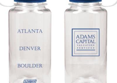 Nalgene 32oz Wide Mouth Custom Printed for Adams Capital