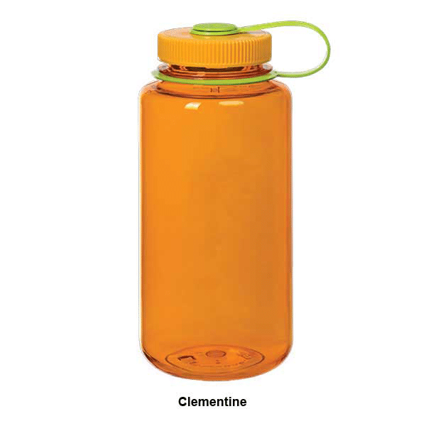 Nalgene 32 oz Wide Mouth Clementine