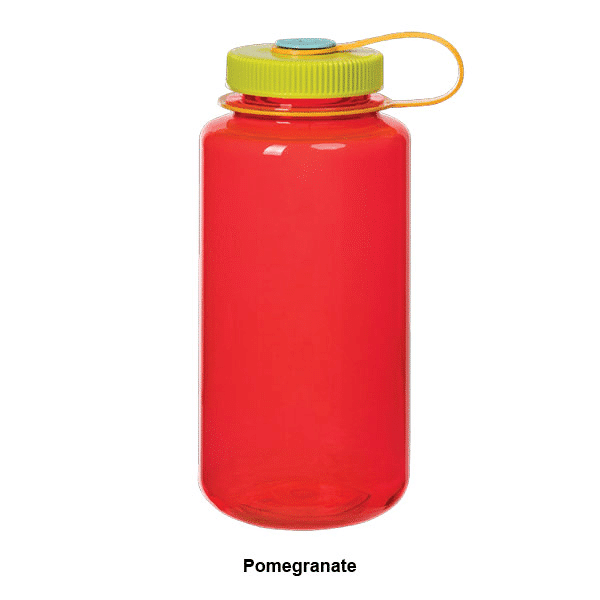 Nalgene 32 oz Wide Mouth Pomegranate